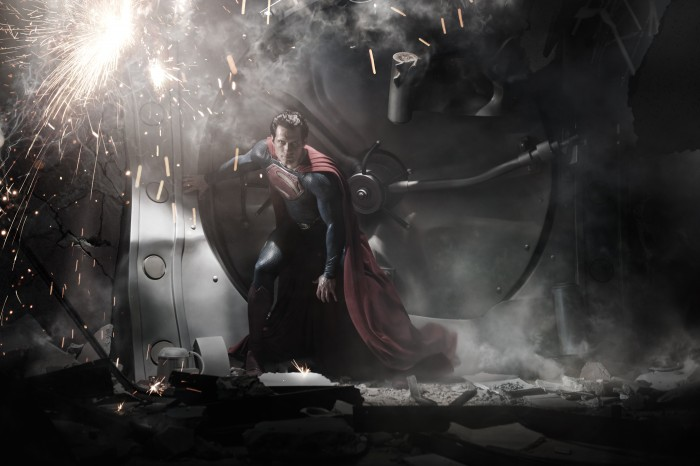 MOS 0001RV 700x466 Zack Snyders Man of Steel Wallpaper superman Movies Man of Steel Comic Books