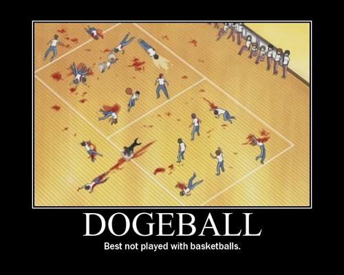 dogeball Sports Humor Gaming