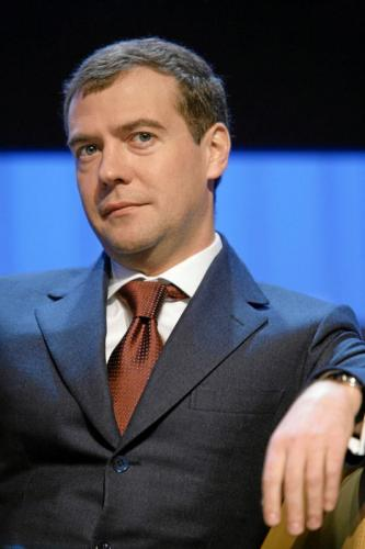 Medvedev at Davos.thumbnail Dmitry Mevedev Politics