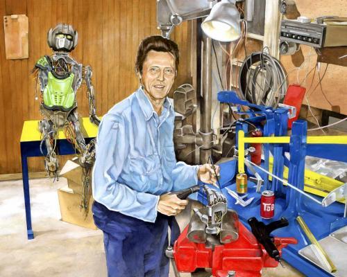 walken prime.thumbnail Christopher Walken building Optimus Prime wtf