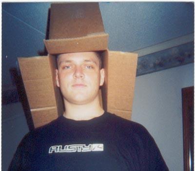 me box man of many hats   Justin Sad :( Military Humor
