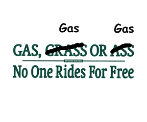 gas2008 Bumper Sticker Humor