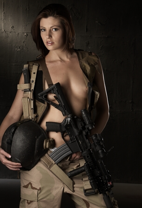 girl nude tactical Larue