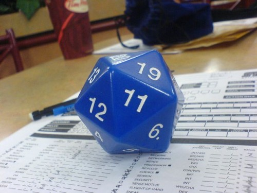 d20 500x375 Dungeons & Dragons Gaming