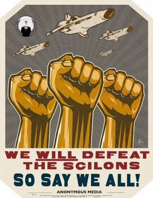 Anonfleetz 500x647 We will Defeat the Scilons, So Say We All! Television