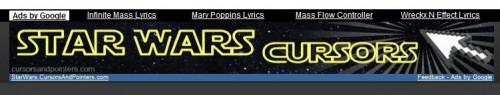 cursors 500x95 Epic Star Wars cursors wtf Movies
