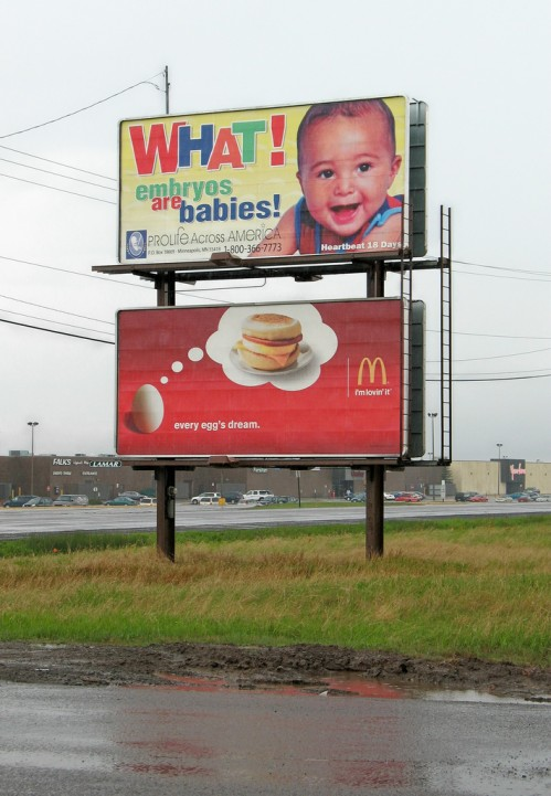 Babies 499x721 Every embryos dream wtf Humor Food Dark Humor Advertisements
