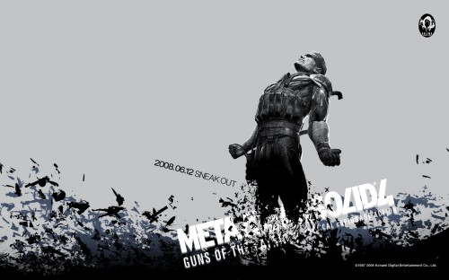 PC 1920 1200 500x312 Metal Gear Solid 4 wallpapers Wallpaper