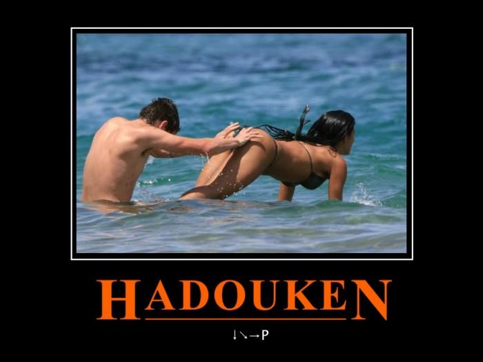 hadouken 700x525 Hadouken street fighter Sexy NeSFW Humor Gaming