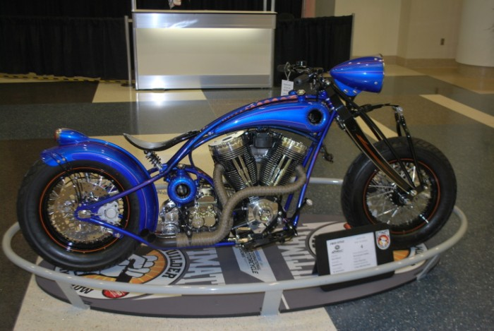 201103089 700x469 Blue Bobber motorcycles