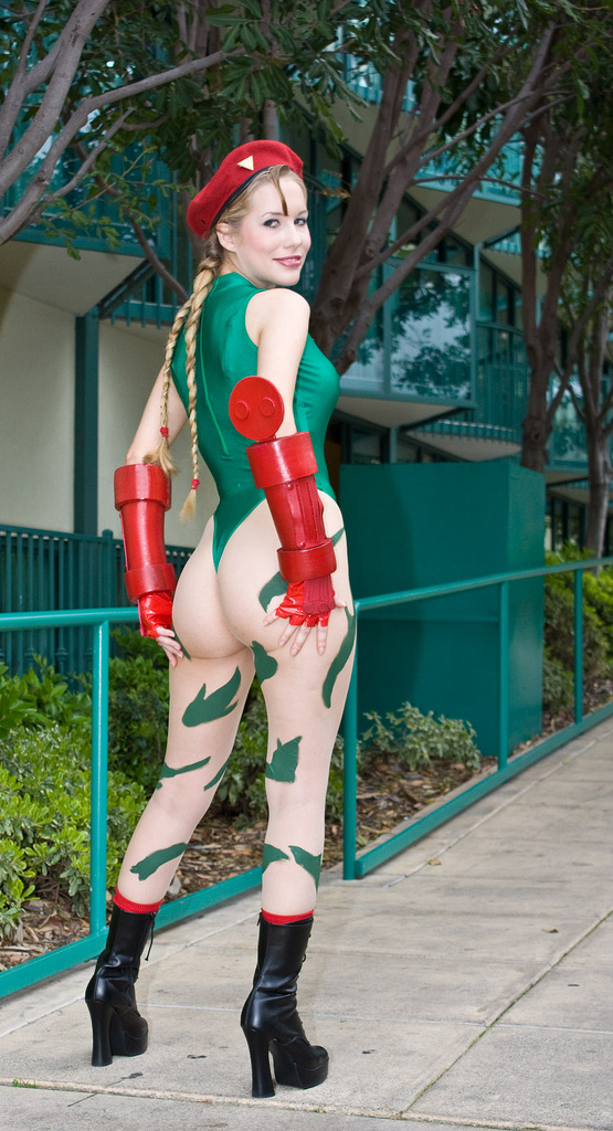 1317776359164 cosplay chick street fighter Sexy NeSFW Gaming cosplay