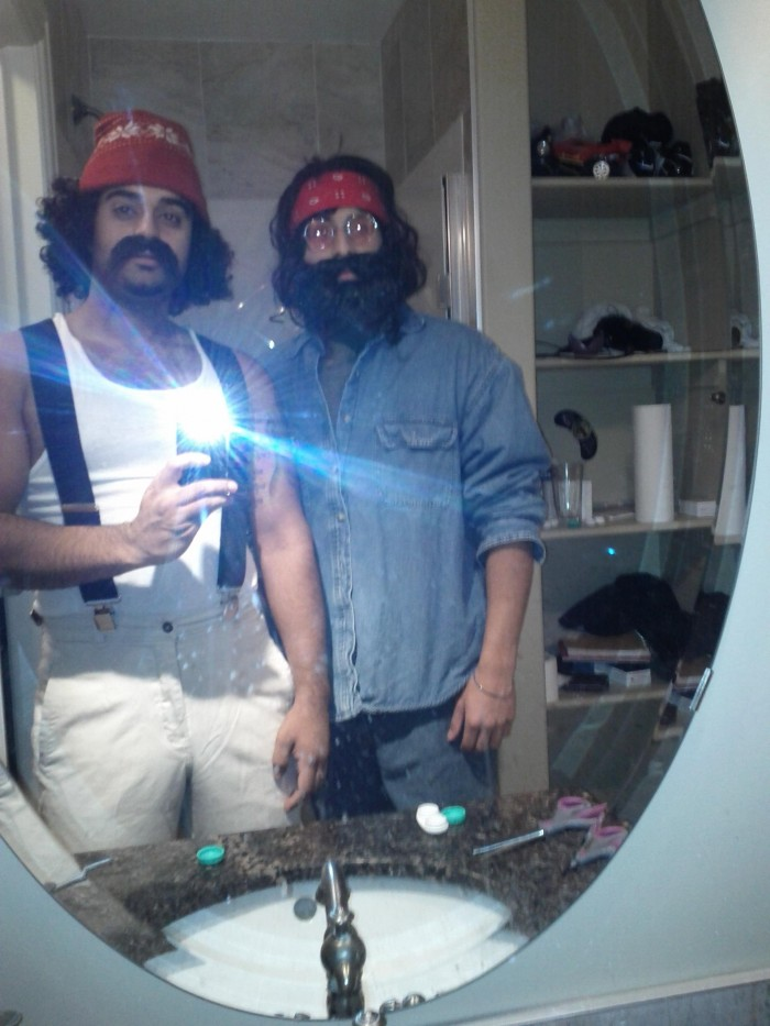 cheechandchong 700x933 Cheech and Chong Halloween costume Humor Halloween Awesome Things 420