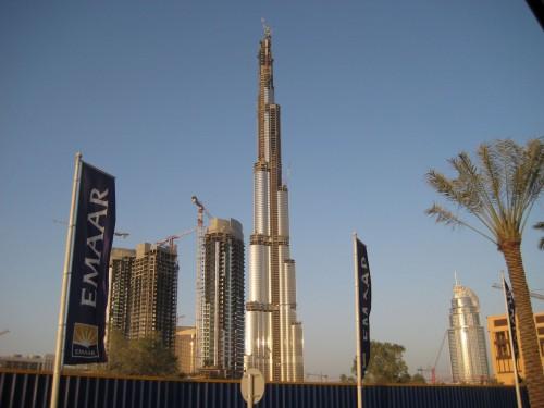 burj08052910mi2 500x375 Impressive Burj...Worlds Tallest.. Wallpaper
