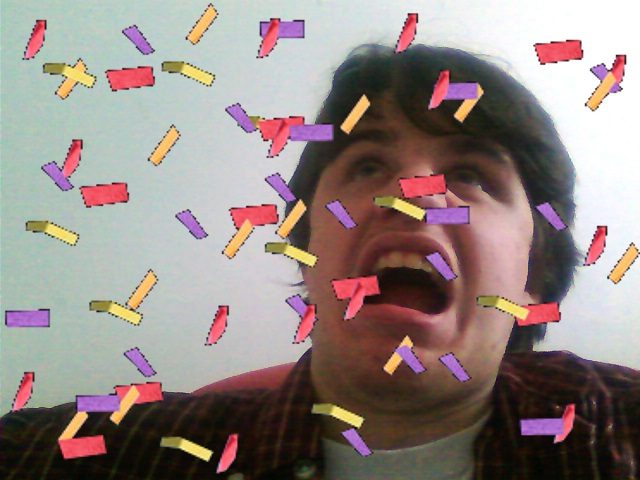 confetti Its me MCS Faces Humor Animated Image