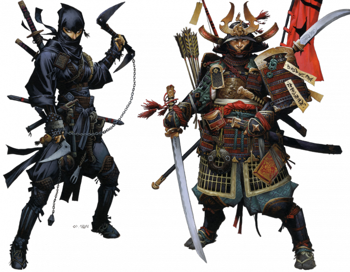 Ninja And Samurai