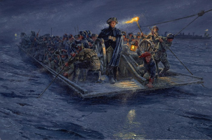 fab31418d31f3d1c020f6a706700509d 0 700x463 How Washington Really Crossed The Delaware Wallpaper Art