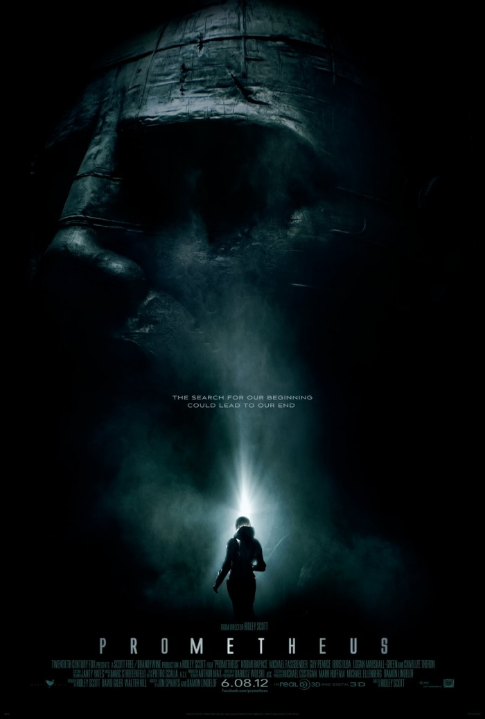 prometheusteaser 700x1037 Prometheus Teaser Poster Movies Movie posters Fantasy   Science Fiction