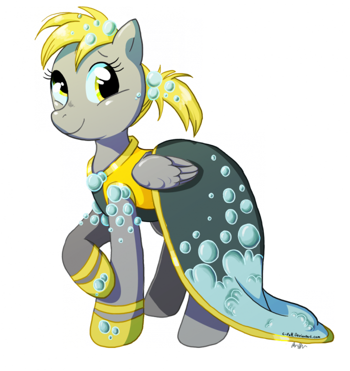 derpy gala dress by c puff d3krah0 700x742 derpy gala dress my little ponies