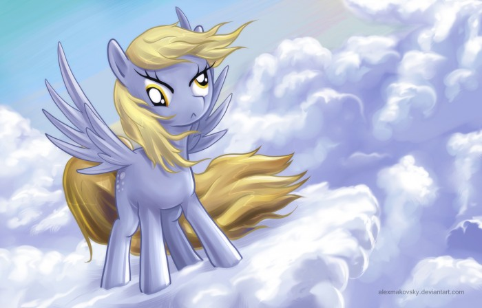 derpy hooves by alexmakovsky d4l1kww 700x448 derpy hooves my little ponies Humor