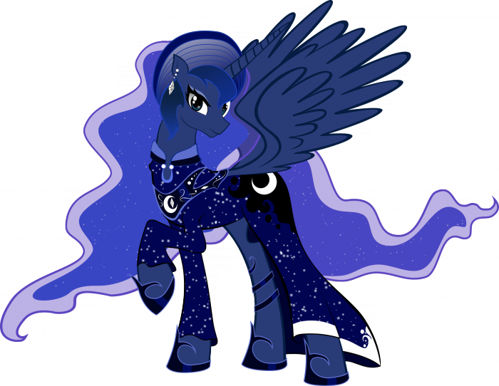 luna new year by artist apprentice587 d4lpfan 700x542 fancy luna my little ponies