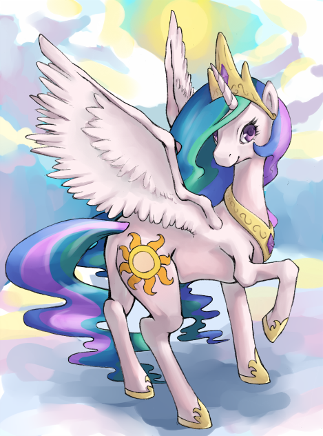 princess celestia by rustystones d4lswqg princess celestia by rustystones my little ponies