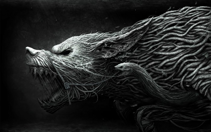 Dark art wallpaper