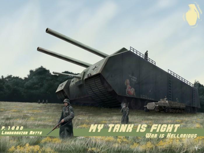 hellarius 700x525 My tank is fight Military Art