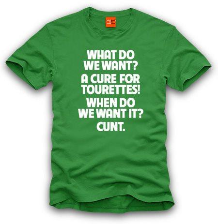 Tourettes offensive Offensive Tourettes Tshirt Humor