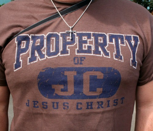 T Shirt Property of JC Jesus Christ 714202 500x430 Property of... Jesus Christ Religion