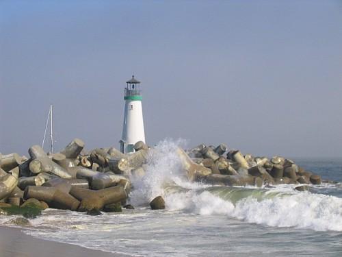 Lighthouse in Santa Cruz, CA