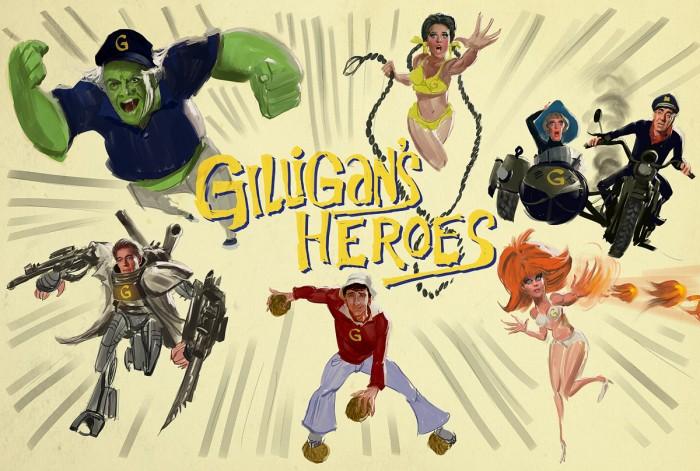 linetrial113 700x471 Giligans Heros Humor gilligans island Gaming