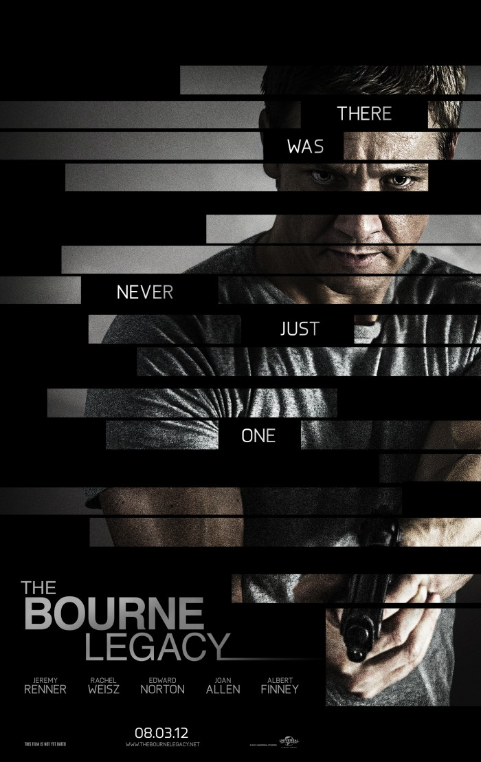 The Bourne Legacy poster 700x1108 The Bourne Legacy Poster Movies move poster