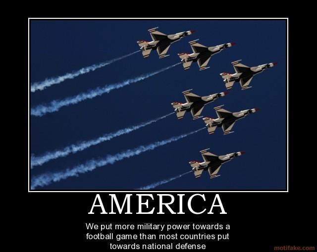 NFL 2 America Sports Military Humor
