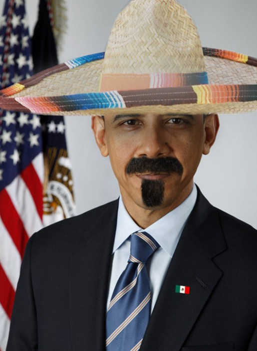 hombre obama 514x700 obama comes out as a mexican Humor barack obama