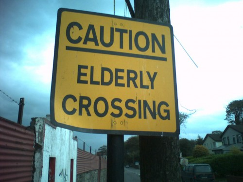 Um, yes 500x375 Elderly Crossing wtf