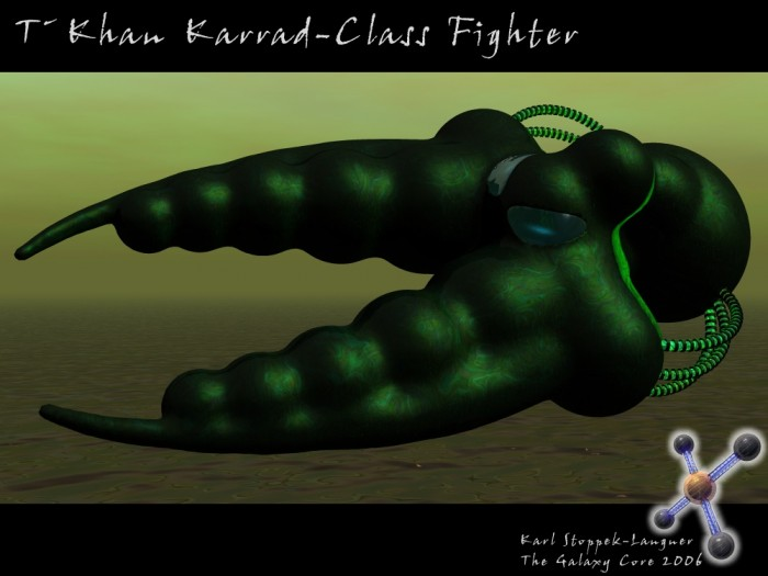 TKhan Karrad class Fighter 700x525 Attack of the mean beanpods