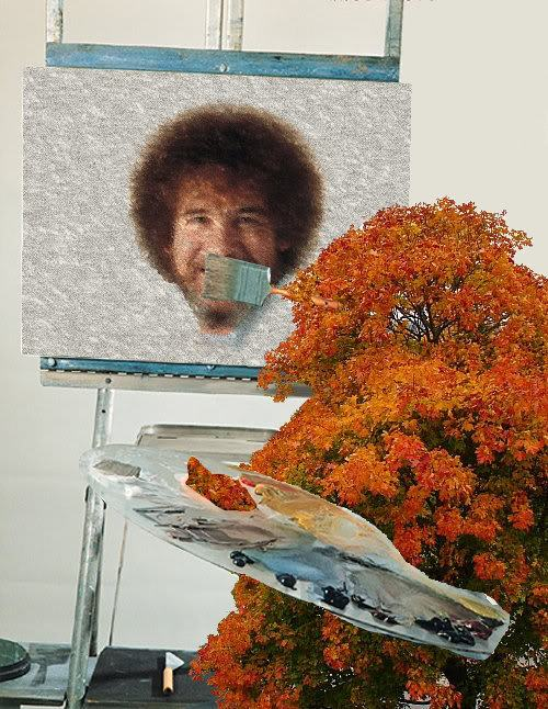 hKDuu quit bob ross in the distance