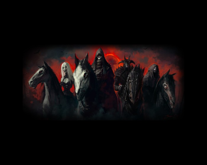 1f 169054 700x560 horsemen Wallpaper Religion