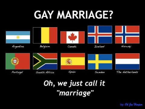 gay marriage Ten countries that dont believe in Gay Marriage