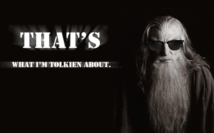 tolk 700x437 Mr White Wallpaper lord of the rings Humor