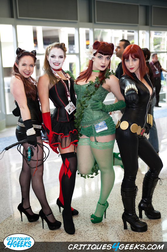 tumblr m1bsm9hORR1qiozwzo1 1280 Pin up Gotham Sirens Sexy cosplay Comic Books
