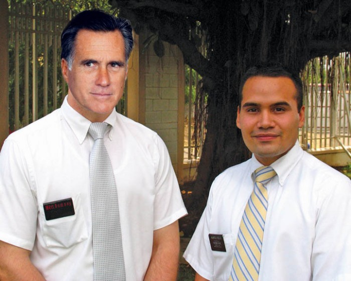 moromney2 700x560 Mormons at the door mitt romney Humor election 2012