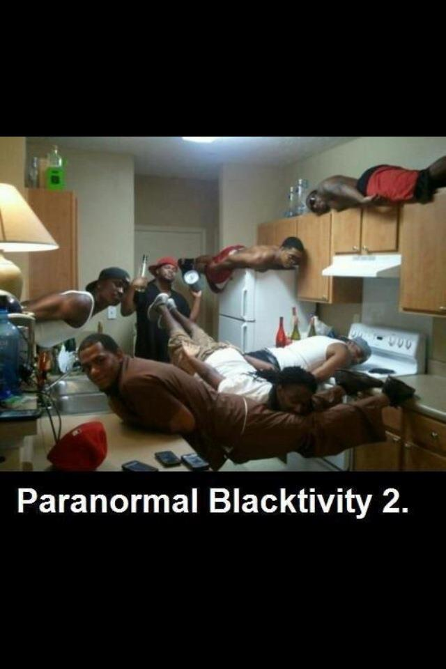 pb2 Paranormal Blacktivity 2 Racist Humor