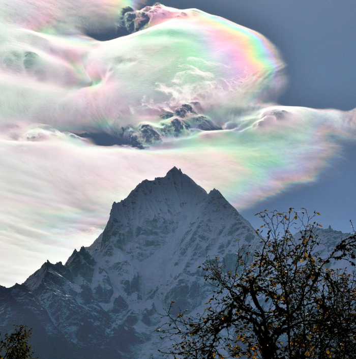 Rare Iridescent Cloud