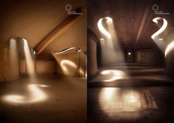 Inside of a Violin