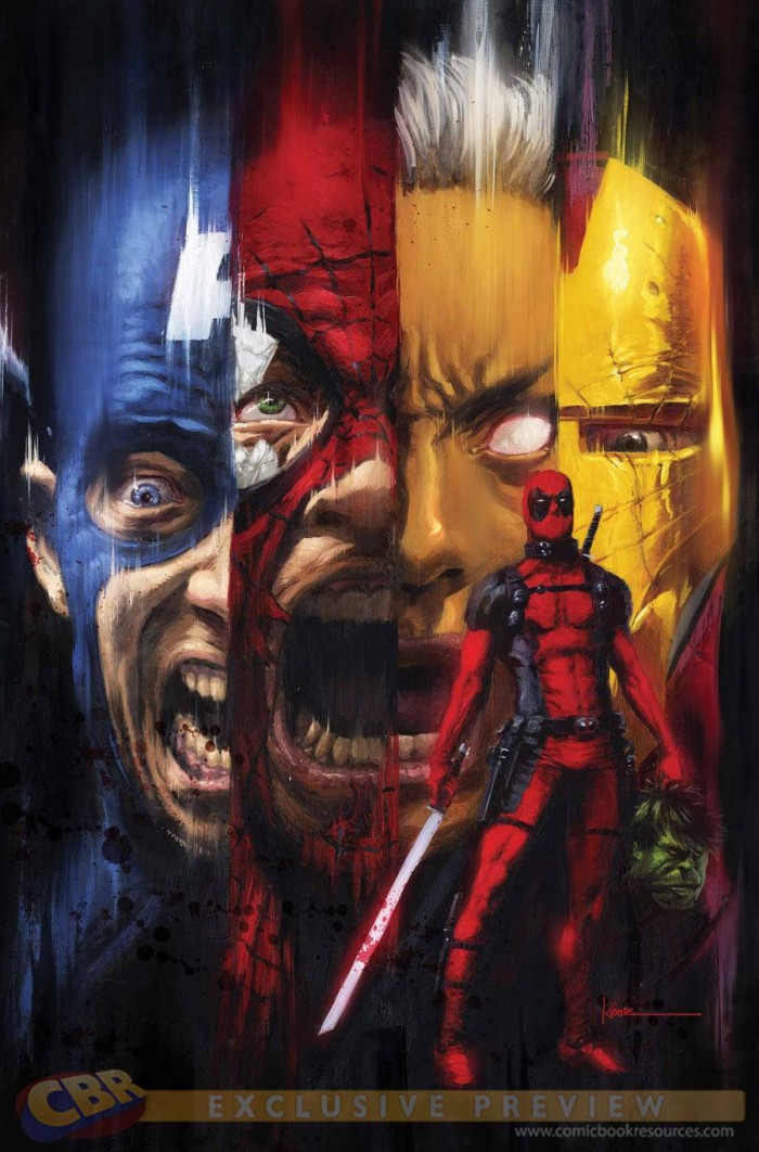 Awesome Deadpool Cover 00 700x1062 Deadpool art