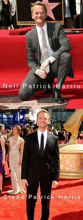 Kneel Neil Patrick Harris