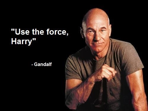 ylrAh Jack Oneil from Firefly star wars star trek potter Patrick Stewart lord of the rings Humor harry