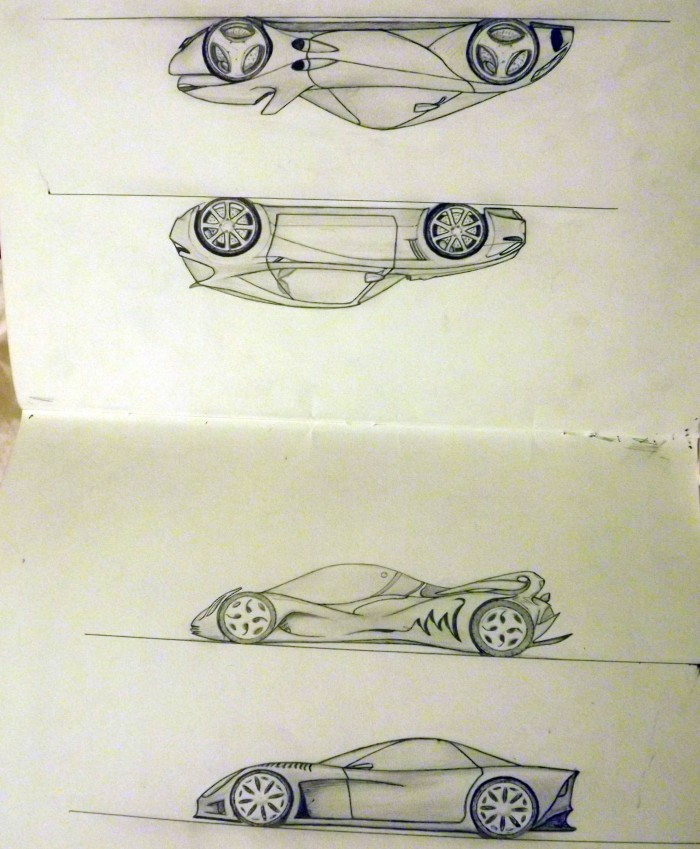 4 cars 700x849 Jail drawings