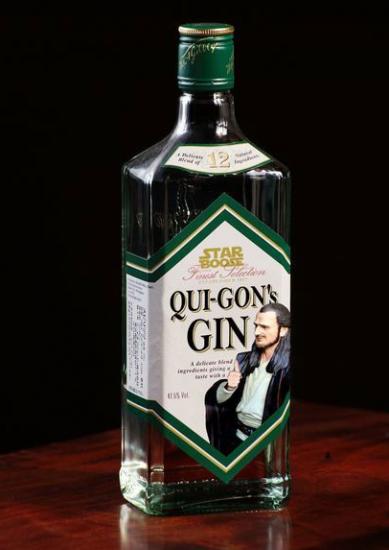KZTlRG 389x550 Qui Gon Gin star wars Humor Alcohol